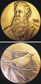 medal presented with aos coues award