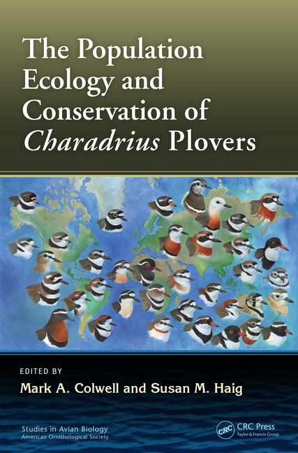 image of book cover depicting a variety of plover species from around the world