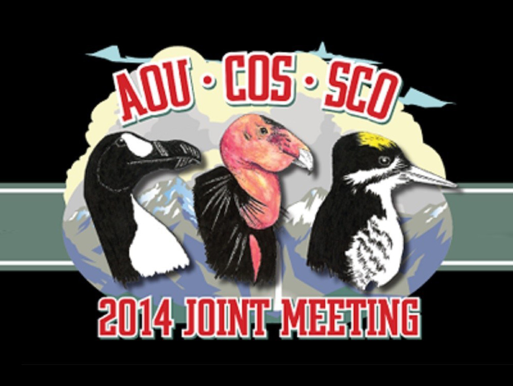AOU 132nd Stated Meeting and COS 84th Stated Meeting and Society of Canadian Ornithologists logo