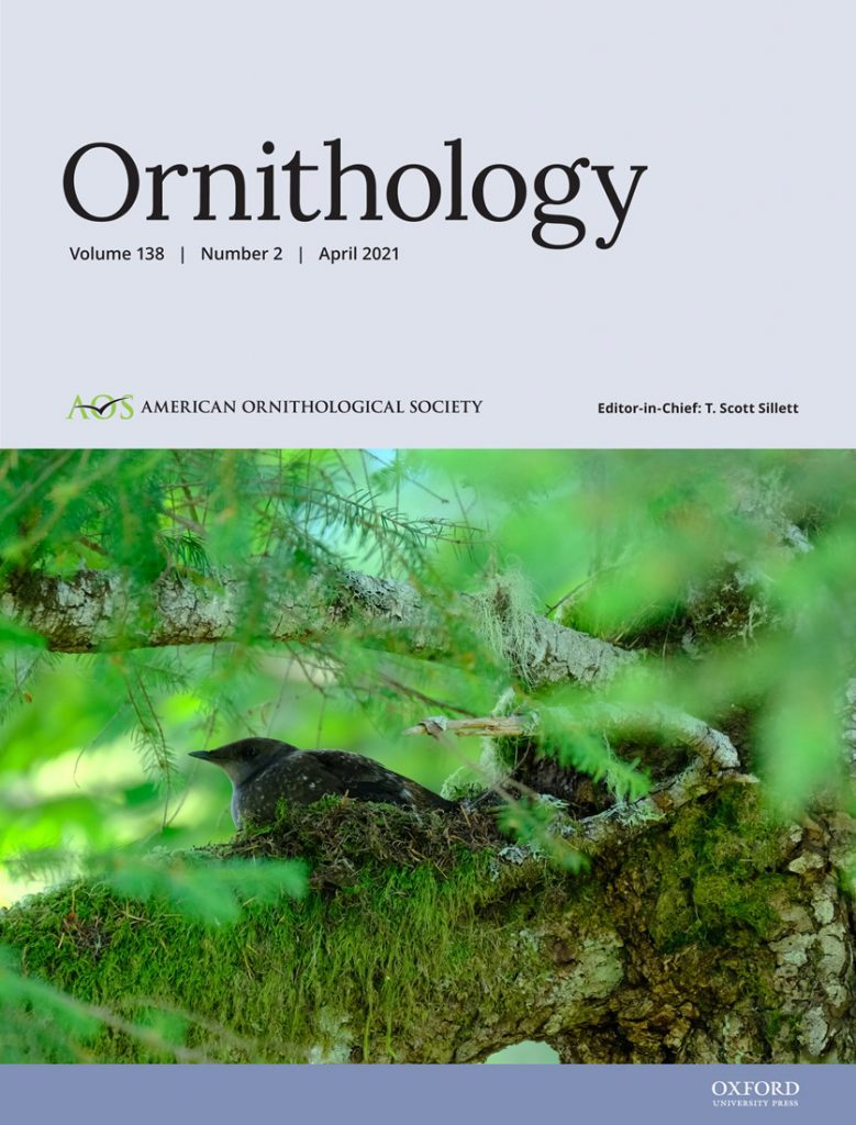 cover of april 21 ornithology