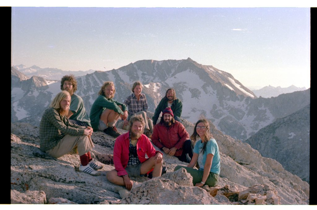 photo of dr david desante with field assistants in 1978